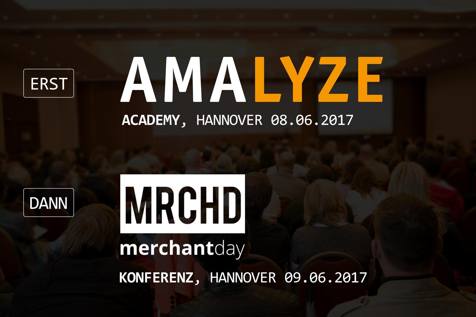 Volle Dröhnung Amazon: erst AMALYZE Academy, dann Konferenz