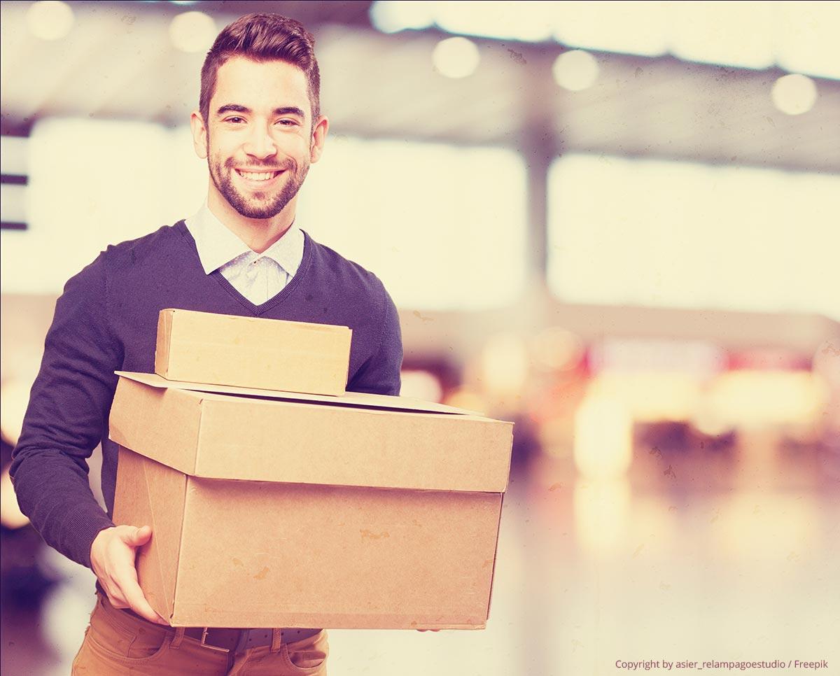 versand von ebay und amazon bestellungen professionell