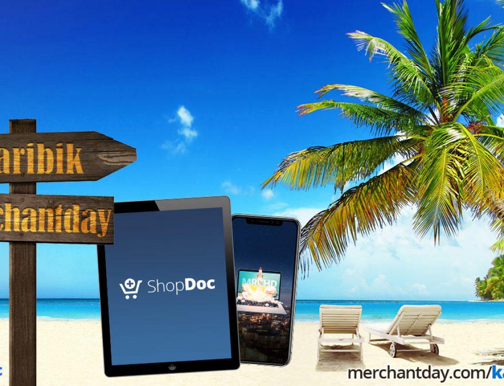 Karibik-Gewinnspiel von ShopDoc auf dem merchantday 2018