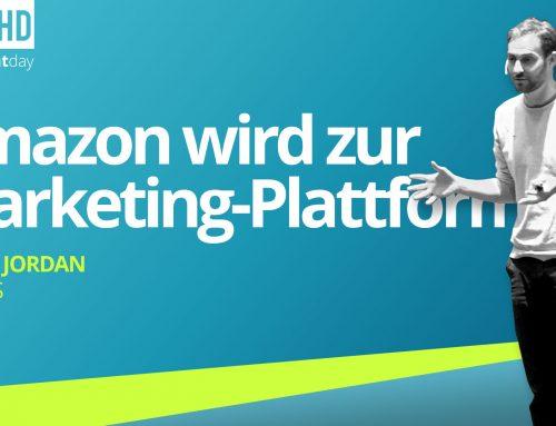 merchantday 2019 Vortrag Franz Jordan: Strategien für die neuen Werbemöglichkeiten in Amazon Advertising