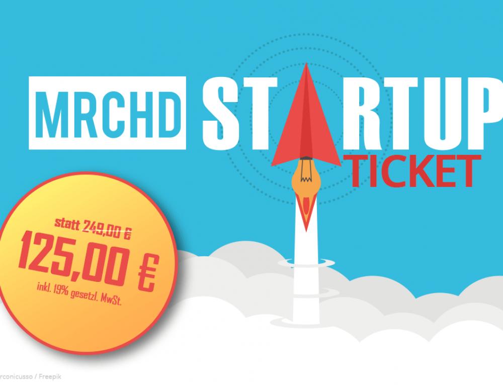 günstiges Konferenz-Ticket für Startups, Schüler, Studenten und Auszubildende
