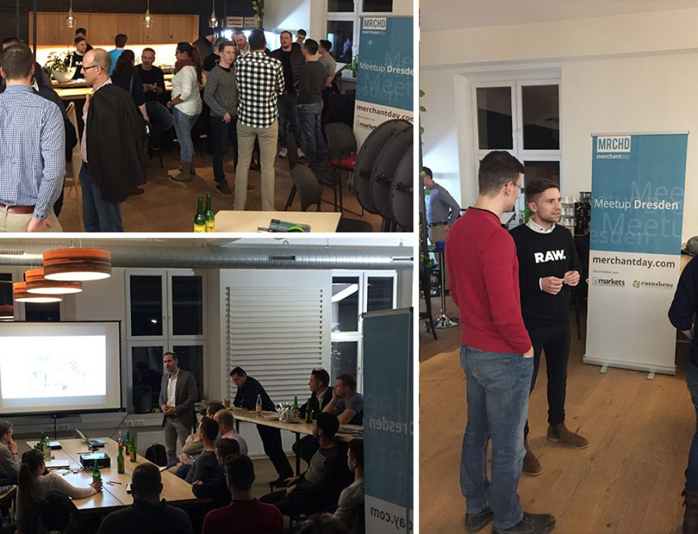 Recap merchantday Meetup 2018 in Dresden Impact Hub
